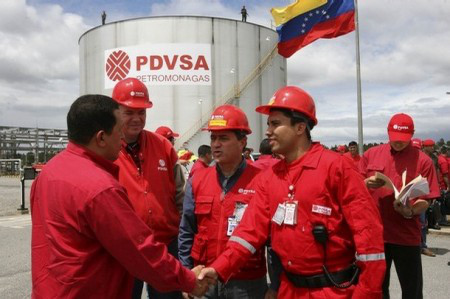 Hugo Chavez Oil